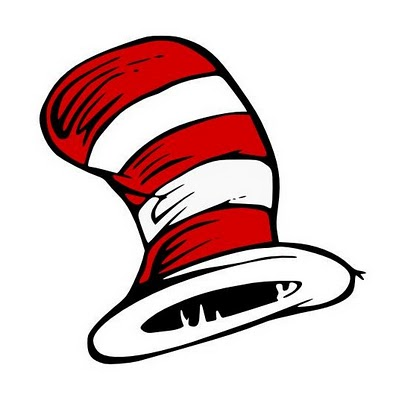 Hat drawing by Dr. Seuss