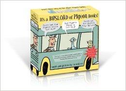 Mo Williams Pigeon book box set bus