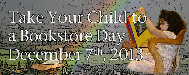Take Your Child to a Bookstore Day Poster