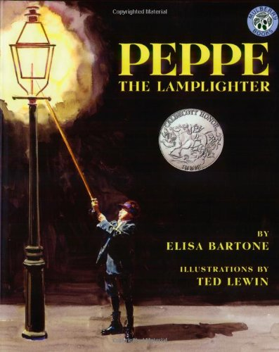 Peppe the Lamplighter, by Elisa Bartone
