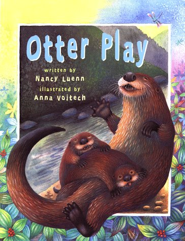 Otter play book cover by Nancy Luenn